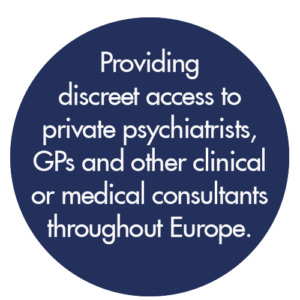 Discreet access to private consultants.